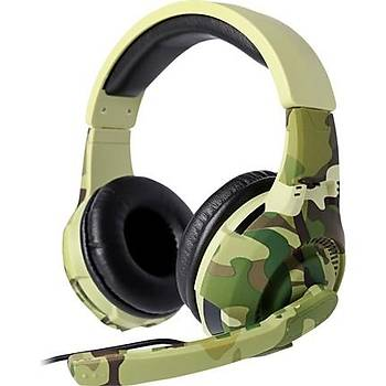 Tucci A4 Gaming Kulaklık-Kamuflaj
