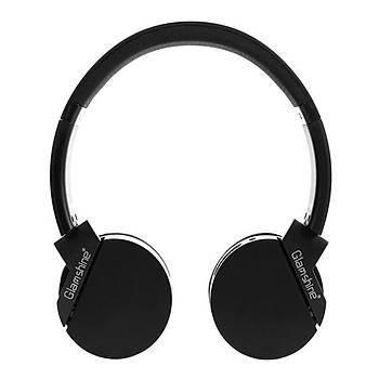 GlamShine GS-H10 Kablosuz Kulaküstü Kulaklık-Siyah