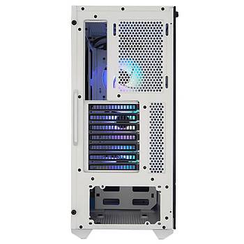 CM MasterBox TD500 Mesh Beyaz TG 3x120mm ARGB Fanlý Kristal Kasa