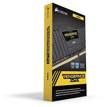 Corsair Vengeance Siyah 16GB(2x8GB) 2400MHz DDR4 Ram