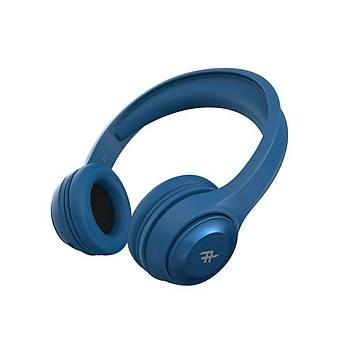 iFrogz Audio Aurora Kablosuz Kulak Üstü Kulaklýk Mavi