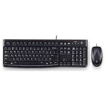 Logitech MK120 Kablolu Klavye Mouse Set (920-002560)