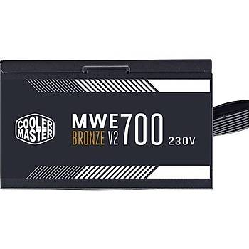 Cooler Master MWE 700W 80+ Bronze 2 x EPS Aktif PFC 120 mm Fanlý PSU (MPE-7001-ACABW-BEU)