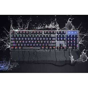 Gamepower Calypso Siyah Optik Mekanik Gamıng Klavye Mavi Swıtch