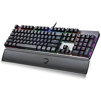 GamePower OGRE RGB Mekanik Kýrmýzý Switch Klavye