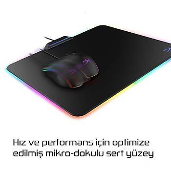 HyperX Fury Ultra Medium RGB Aydýnlatmalý Sert Yüzey Gaming Mouse Pad