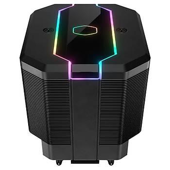 COOLER MASTER MASTERAIR MA620M RGB 120mm Fanlý Ýþlemci Soðutucusu (Ýntel&AM4 destekli)