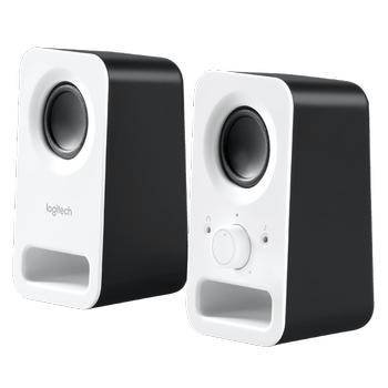 Logitech Z150 Kar Beyazý Stereo Hoparlör - PC Tablet ve Telefon Uyumlu