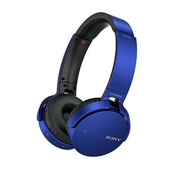 Sony MDR-XB650BT Kulaküstü Kablosuz Kulaklýk - Mavi