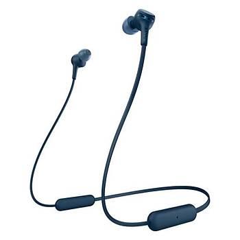 Sony WIXB400L.CE7 Kablosuz Extra Bass Kulaklýk - Mavi