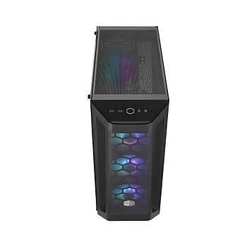 COOLER MASTER MasterBox MB511 ARGB Tempered Glass USB 3.2 Mid Tower Kasa