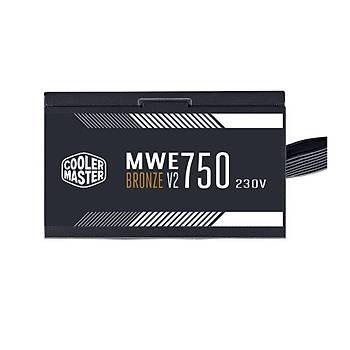 Cooler Master MWE 750W 80+ Bronze 2 x EPS Aktif PFC 120 mm Fanlý PSU (MPE-7501-ACABW-BEU)