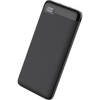 Dexim K20 10.000MAH Powerbank-Siyah DCA0033-B