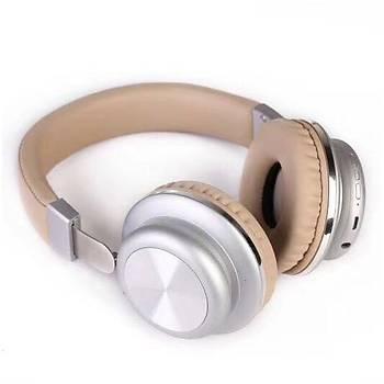 GlamShine GS-H6 Kablosuz Kulaküstü Kulaklık-Beyaz