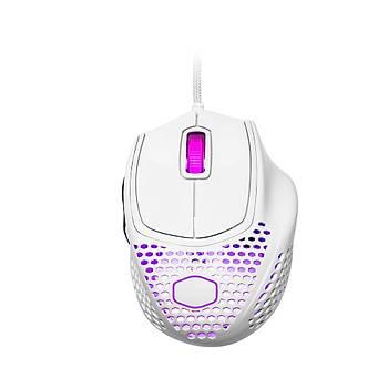 Cooler Master MM720 RGB Ultra Hafif Parlak Beyaz Gaming Mouse