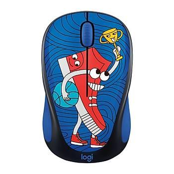 Logitech M238 Kablosuz Mouse The Doodle Collection Sneaker Head