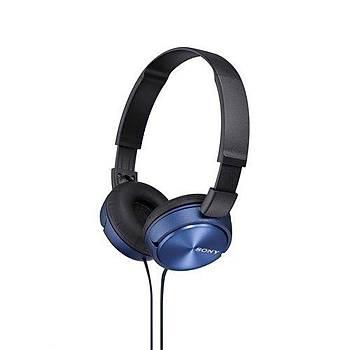 Sony MDR-ZX310APL Mikrofonlu Kulaküstü Kulaklık - Mavi