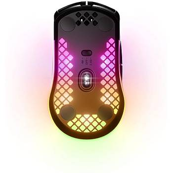 Steelseries Aerox 3 Wireless 18000 DPI Ultra Hafif Gaming Mouse Siyah