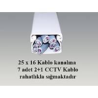 25 X 16 Kablo Kanalı Kendinden Yapışkanlı  -  1187