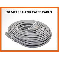 30 Metre Utp Cat5E Hazır Network Kablosu