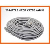 20 Metre Utp Cat5E Hazýr Network Kablosu - 1569
