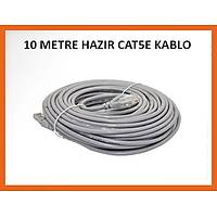 10 Metre Utp Cat5E Hazır Network Kablosu - 1589