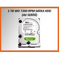 Western Digital 1 TB AV-Green Intellipower 64MB SATA3 Hdd Harddisk (WD10EURX)