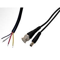 Bnc + Erkek Power Güç Soketi 30 Cm Kablo / 1297