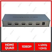 HDMI QUAD - HDMI 4'LÜ GÖRÜNTÜLEYİCİ - 1080P - HDMI 1.3a/ 1835