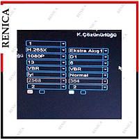 Renica AD-0450 4 Kanal 5MP 1920N AHD Dvr Kayýt Cihazý -XMEYE -H265 / 1801R