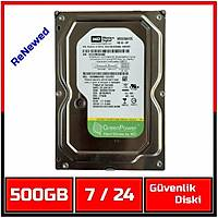 500 GB Western Digital  7200RPM AV-GP WD5000AVDS 7/24 Güvenlik Diski (6 Ay garantili)-1843