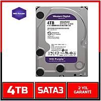 4 TB Western Digital Purple 7/24  Sata3 HDD - Harddisk - 1832