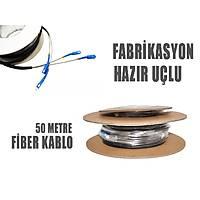 50 Metre Hazır Fiber Optik Polietilen Kablo - 1614