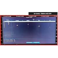 Renica AD-3202 32 Kanal 2MP 1080N  AHD Dvr Kayıt Cihazı - 1754
