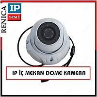 Renica IP-E769 1,3 MP 36 IR Led Beyaz Metal Dome  IP Kamera- 1474R