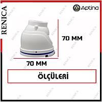 Renica HD-B684 2 MP 12 Led 3.6 MM Lens Metal Kasa Mini Kamera-1727R