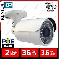 RENICA IP-2678 2MP IP IMX307 DH MIDI KASA H265 POE'LÝ / 1822R