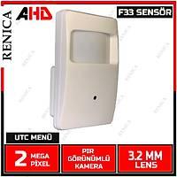 Renica HD-A3P  2 MP pýr Görünümlü Gizli AHD Kamera  - 1675R