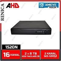 Renica AD-1650 16 Kanal 5MP 1920N AHD Dvr Kayýt Cihazý -XMEYE -1803R