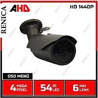 Renica HD-B761 4.0 MP HD 1440P 54 Led  6 MM Lens  Füme Ayaklı Ahd Kamera-1670