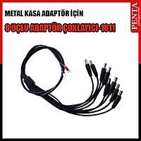 8 Uçlu Metal Adaptör İçin Çoklayıcı Kablo  / 1811
