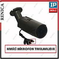Renica IP-E2191 1.3 MP 54 Led 3.6 MM Lens Füme Metal Kasa IP Kamera - 1729R