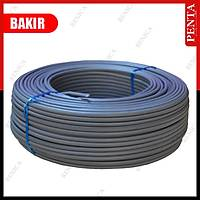 100 Metre 2+1 BAKIR+CCA Kablo (1x 0.22 BAKIR + 2x 0,22 mm CCA) 2x0,22 mm2 / 1783