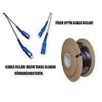 SON 1 ADET - 20 Metre Hazır Fiber Optik Polietilen Kablo - 1613