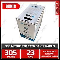305 MT  BAKIR FTP CAT6 KABLO  0.55MM 23AWG SL-CAT708  - 1853