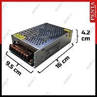 12V 10 Amper Metal kasa Güvenlik Kamerasý Adaptör - Midi Kasa - 1732