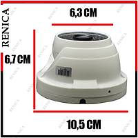 Renica  HD-B689 2 MP, 3.6MM, AHD, 48 Led UTC Menü  Metal Dome Kamera -1704R