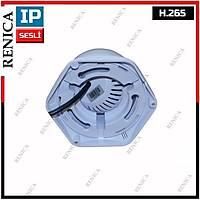 Renica IP-E2537  SESLÝ 2 MP 3 Array Led 3.6 MM Lens  H.265 IP Dome  Kamera - 1773R
