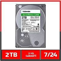 2 TB Toshiba Survillance S300 7/24 Güvenlik HDD - Harddisk - 1719