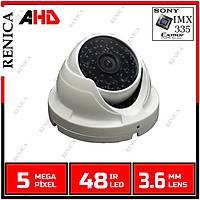 RENICA HD-A589 5MP AHD IMX335 METAL DOME KASA / 1826R